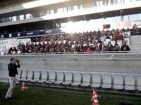 Fête de rentrée du Lycée St Michel de Blanquefort au Nouveau Stade de Bordeaux-Lac